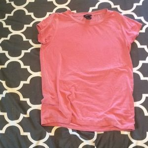 Light pink salmon T-shirt rue 21